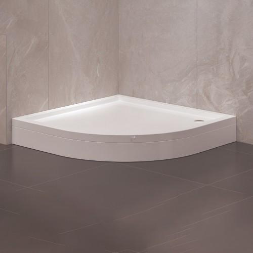 Oval Panelli Duş Teknesi - Yükseklik: 17 Cm